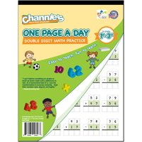 Channie's One Page A Day Double Digit Math Pratice 1st - 3rd