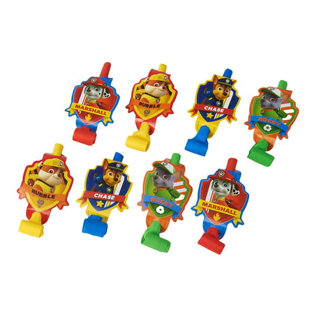Paw Patrol Party Favor Blowers, 8ct for $<!---->