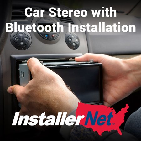 Car Stereo with Bluetooth Installation