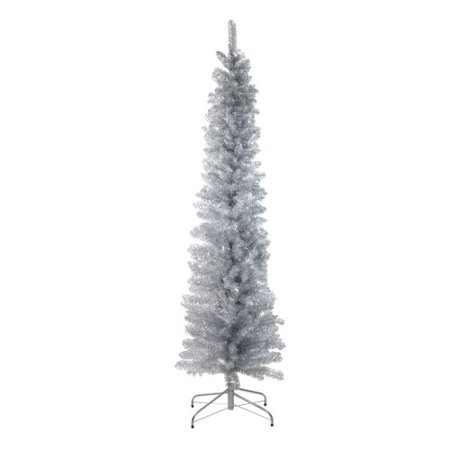 Artificial Christmas Tree Branches.Northlight Seasonal Tinsel Branches 6 Silver Artificial Christmas Tree