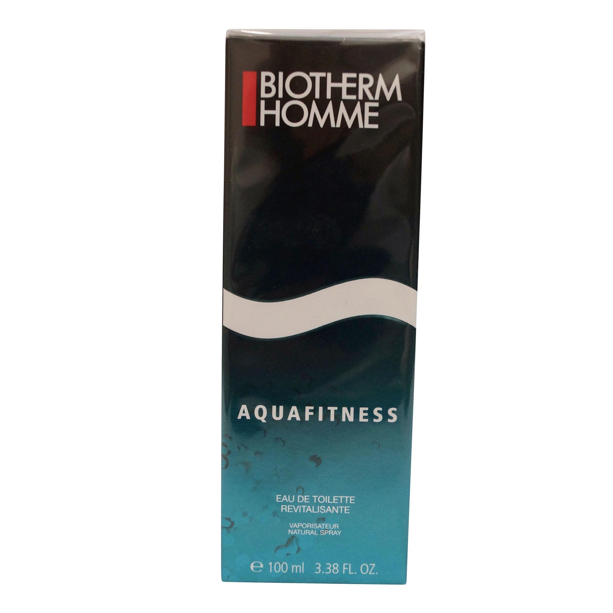 Biotherm Aquafitness EDT for Men, 3.38 Oz
