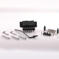 Seismic Audio  Black Floyd Rose Style Electric Guitar Bridge Double Tremolo Kit Black - SAGA16