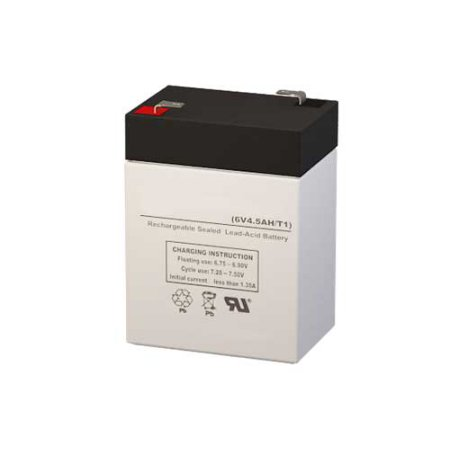 CSB Battery GP645 F1 Battery Replacement (6V 4.5AH )