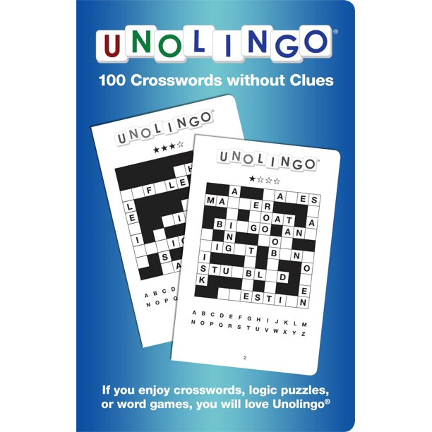 Unolingo 100 Crosswords Without Clues Walmart Com Walmart Com