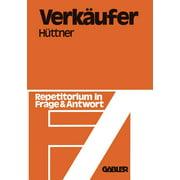 Verkäufer: Repetitorium in Frage Und Antwort (Paperback)