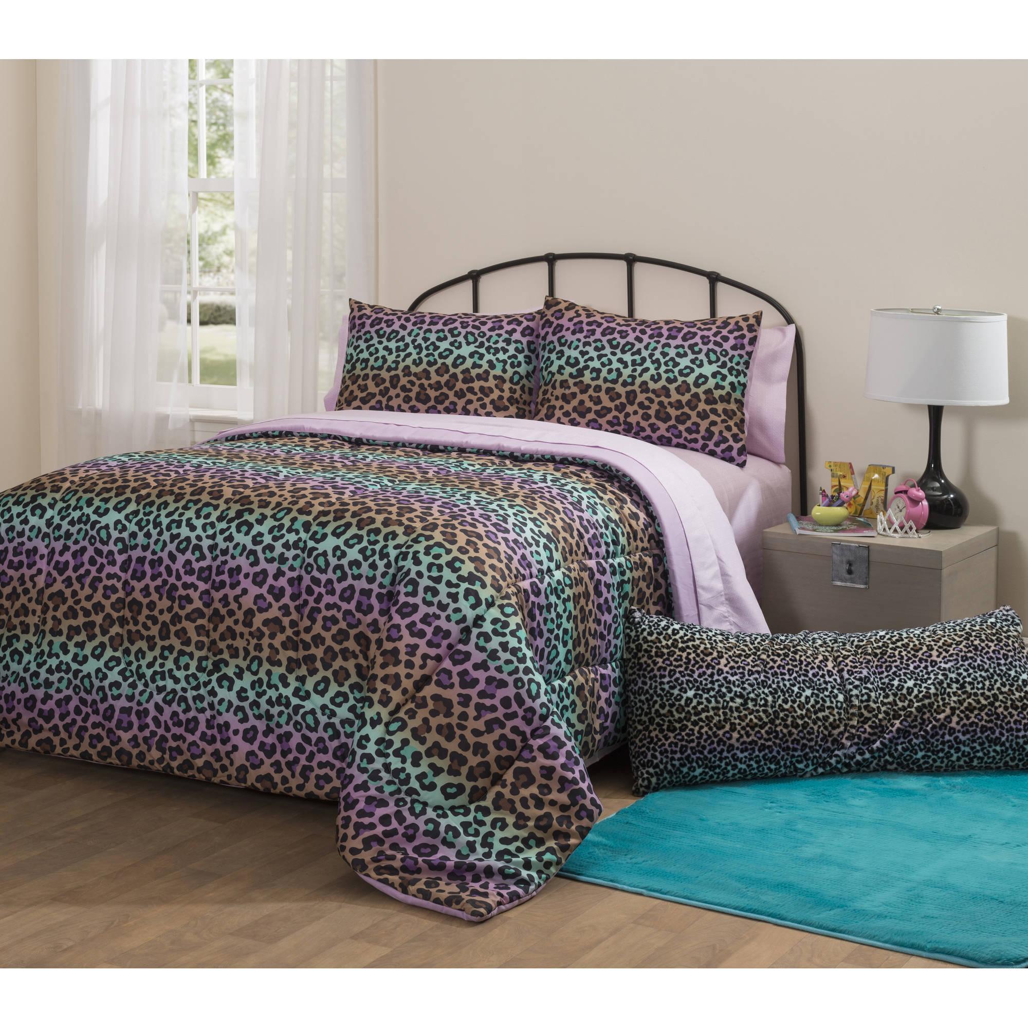 Idea Nuova Latitude Ombre Cheetah Bed in a Bag Bedding Set