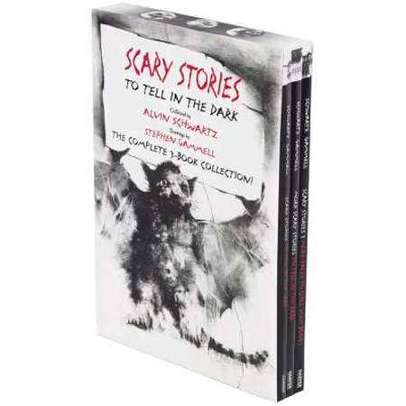 Scary Stories Paperback Box Set : The Complete 3-Book Collection with Classic Art by Stephen - A Not So Scary Halloween Disney