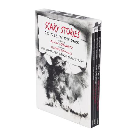 Scary Stories Paperback Box Set : The Complete 3-Book Collection with Classic Art by Stephen Gammell