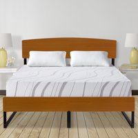 """GranRest 14"""" Metal Platform Bed with Headboard and Footboard, Full"""