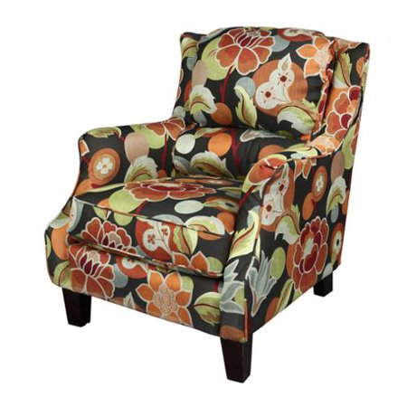 Floral Accent Chairs.Porter International Designs Porter Zoe Floral Woven Fabric Accent Chair