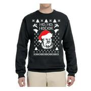 Ho Ho Hodor GoT Ugly Christmas Sweater Mens Christmas Graphic Crewneck Sweatshirt