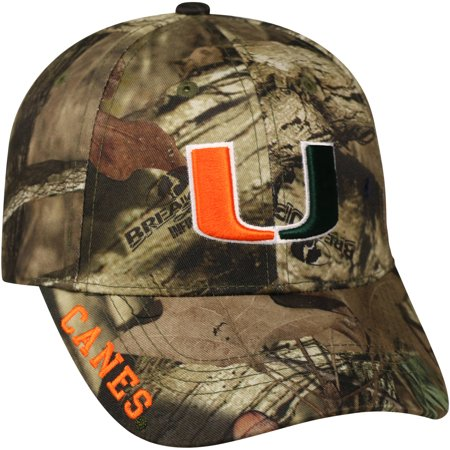 Miami Hurricanes Colors (NCAA Men's Miami Hurricanes Mossy Cap )