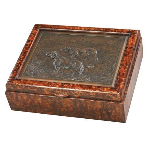 Hunting Dog Box - 8W x 3H in.