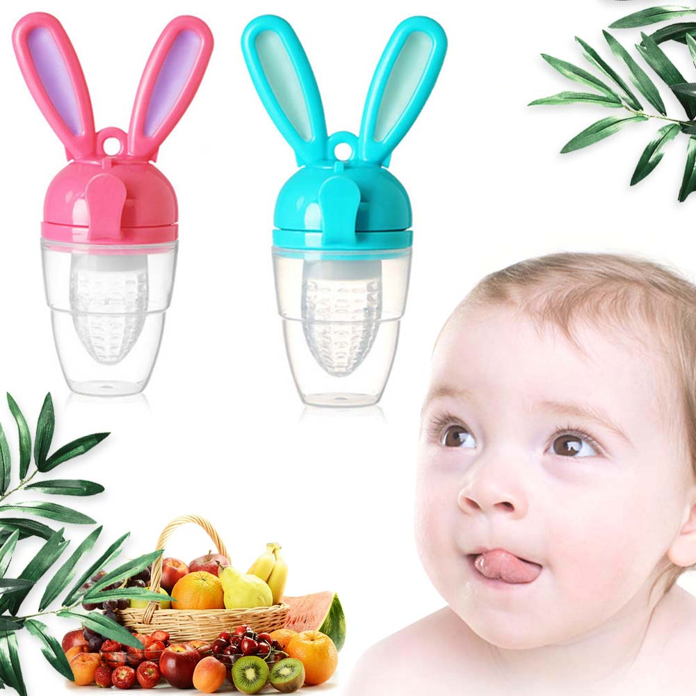Silicone Infant Baby Teethers Food Fruit Teething Toddler Soother Gum Toys New