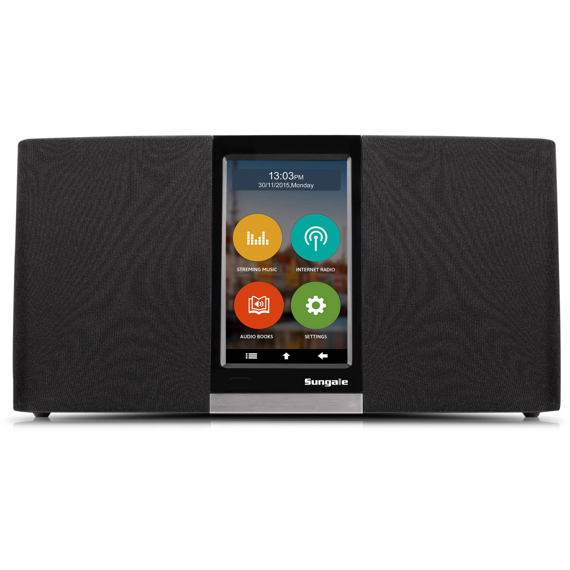 Sungale KWS433 WiFi Internet Radio with User-Friendly Touchscreen Navigation by Sungale