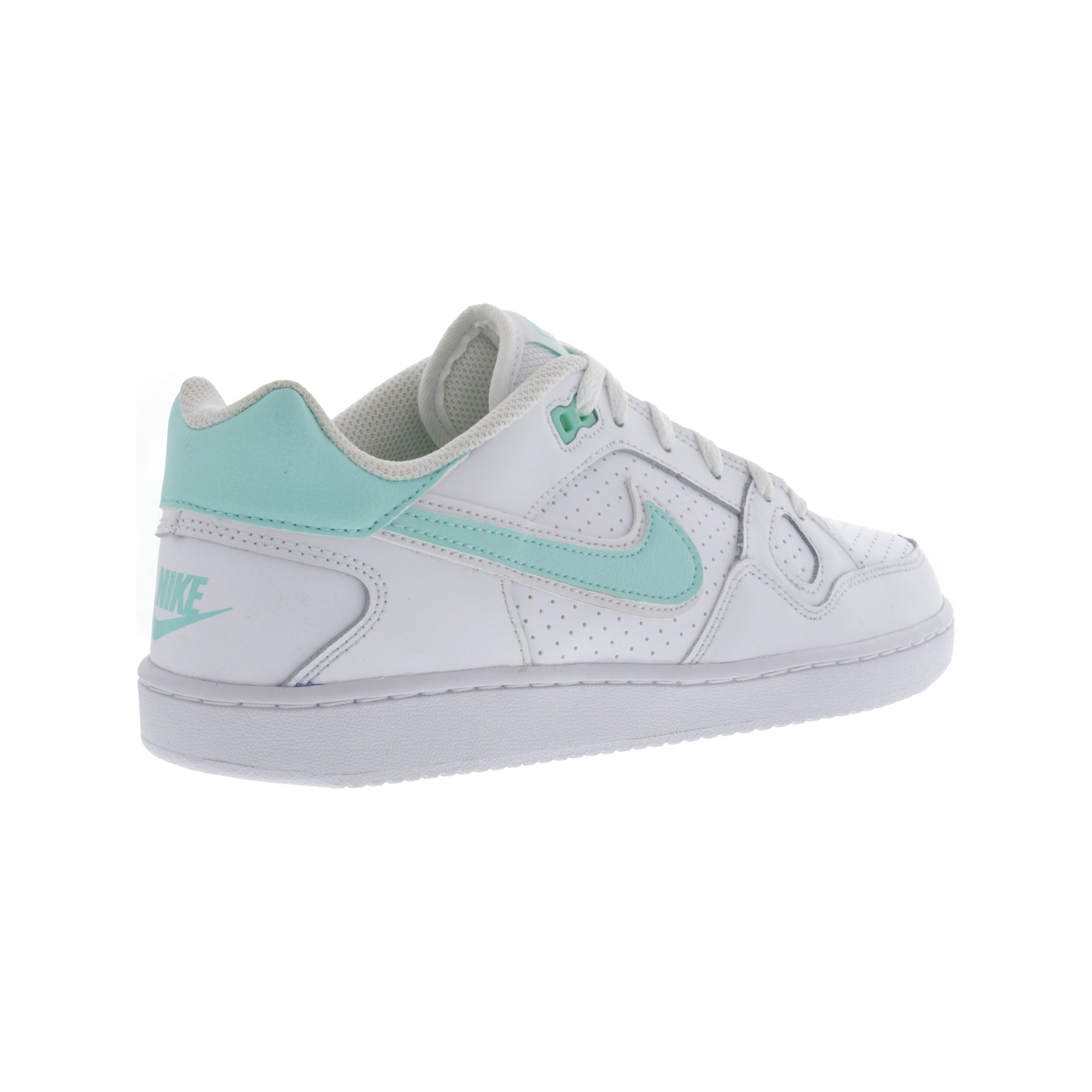 1bd1cd66a Nike Women s Son Of Force Black   White Ankle-High Leather Fashion Sneaker  - 7.5M