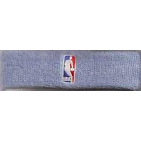 Bare Feet Embroidered Headband - For Bare Feet NBA Headband - Carolina blue