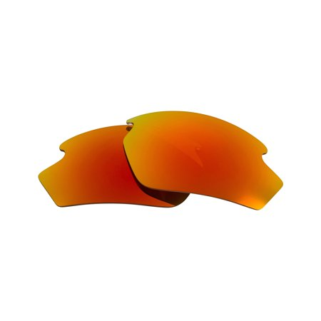 Replacement Lenses Compatible with RUDY PROJECT Rydon Polarized Red Mirror (Rydon Sonnenbrille)