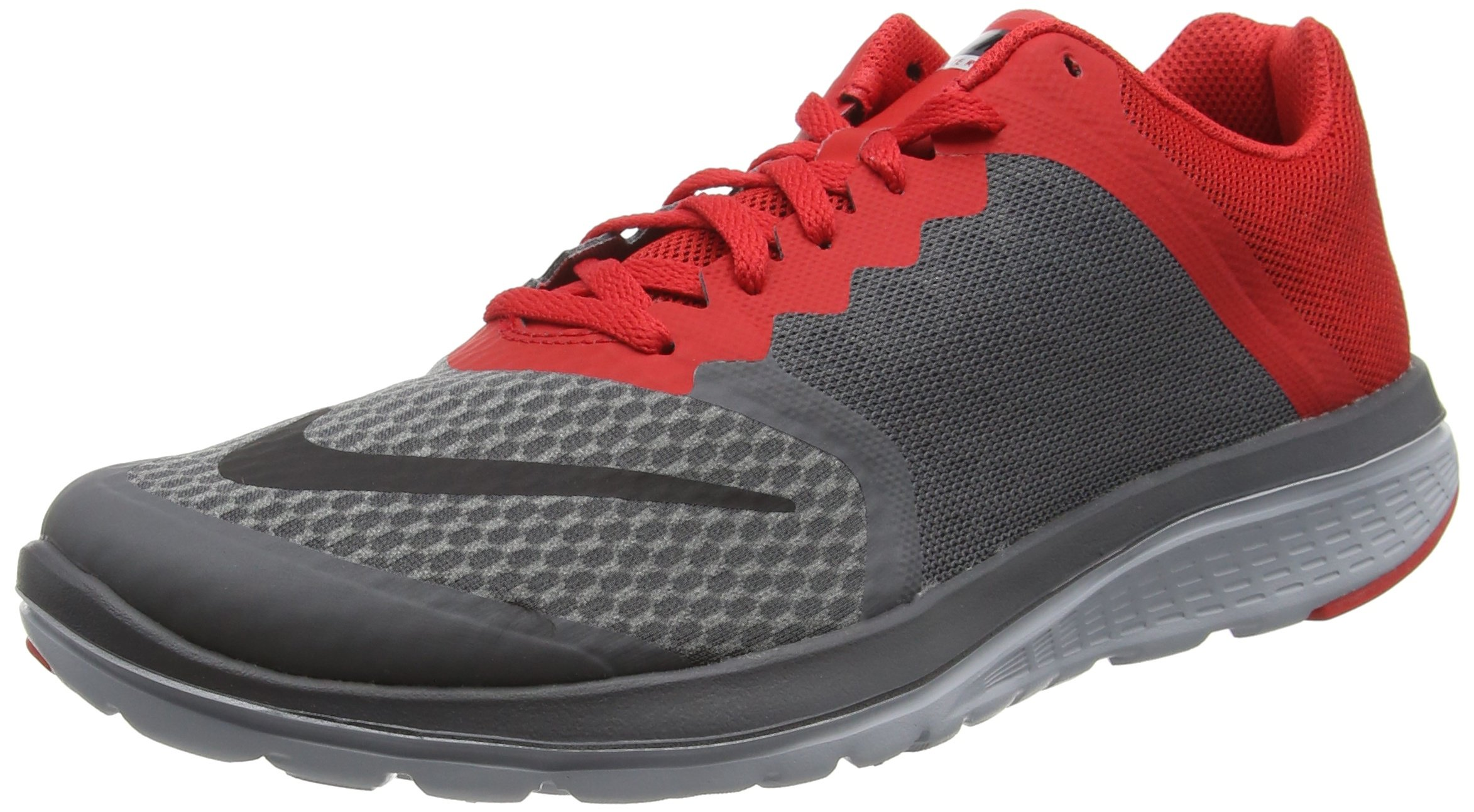 Nike Men's FS Lite Run 3 Drk Grey/Black/University Red/Wlf Gry, US Men's