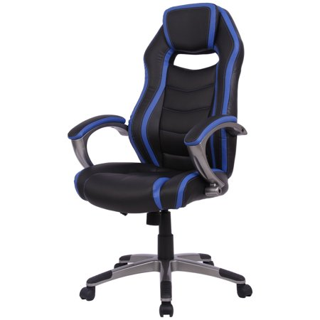 Peachy Gymax Gaming Chair Racing Car Style High Back Office Chair Bucket Seat Machost Co Dining Chair Design Ideas Machostcouk