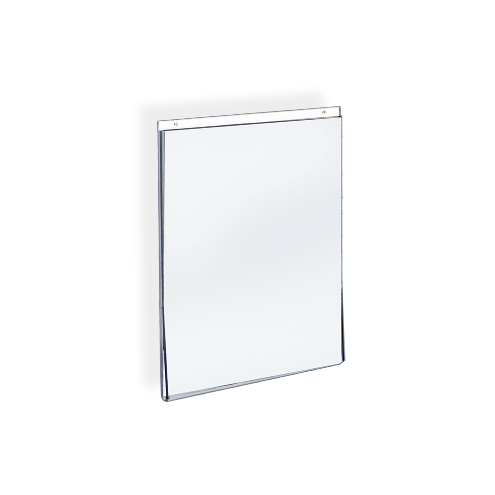 "Azar 162714 8.5""W x 11""H Wall U-Frame Acrylic Sign Holder, 10 Pack by Supplier Generic"