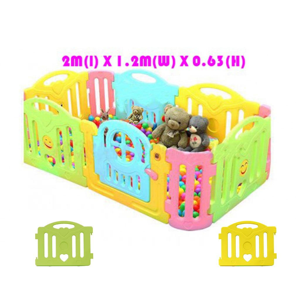 e1c9eb7c2 New! 2M x 1.2M x 0.63M Baby Kid Playpen Panel Activity Center ...