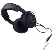Audio2000s AHP502 Professional Monitor Closed Back Dynamic Stereo Headphones With 10 ft. Cable