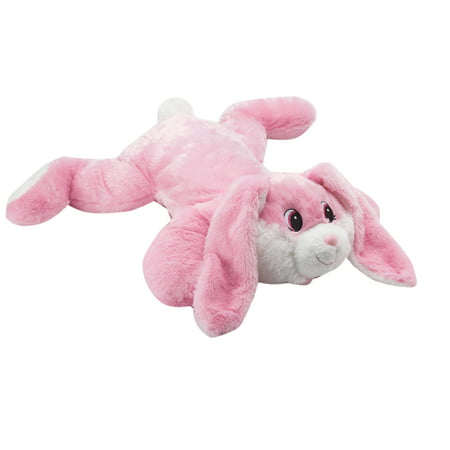Way to Celebrate Large Bunny Floppy Pal Plush](Pink Bunny Stuffed Animal)