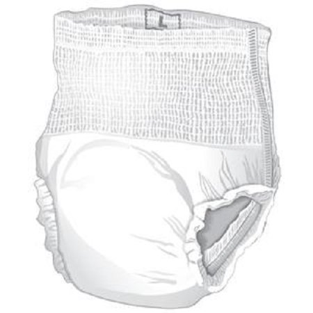 Cardinal Health Underwear  Moderate Absorbency 45 58 Waist  Large Bag Of 18