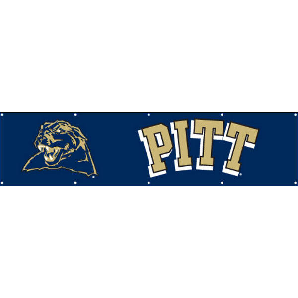 University of Pittsburgh 2' x 8' Banner