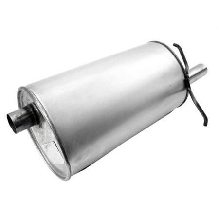 Quiet-Flow 21572 Exhaust Muffler (Free Flow Muffler)