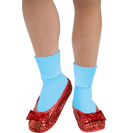 The Wizard Of Oz Dorothy Costume Sequin Shoe Covers Adult One Size - image 1 of 1