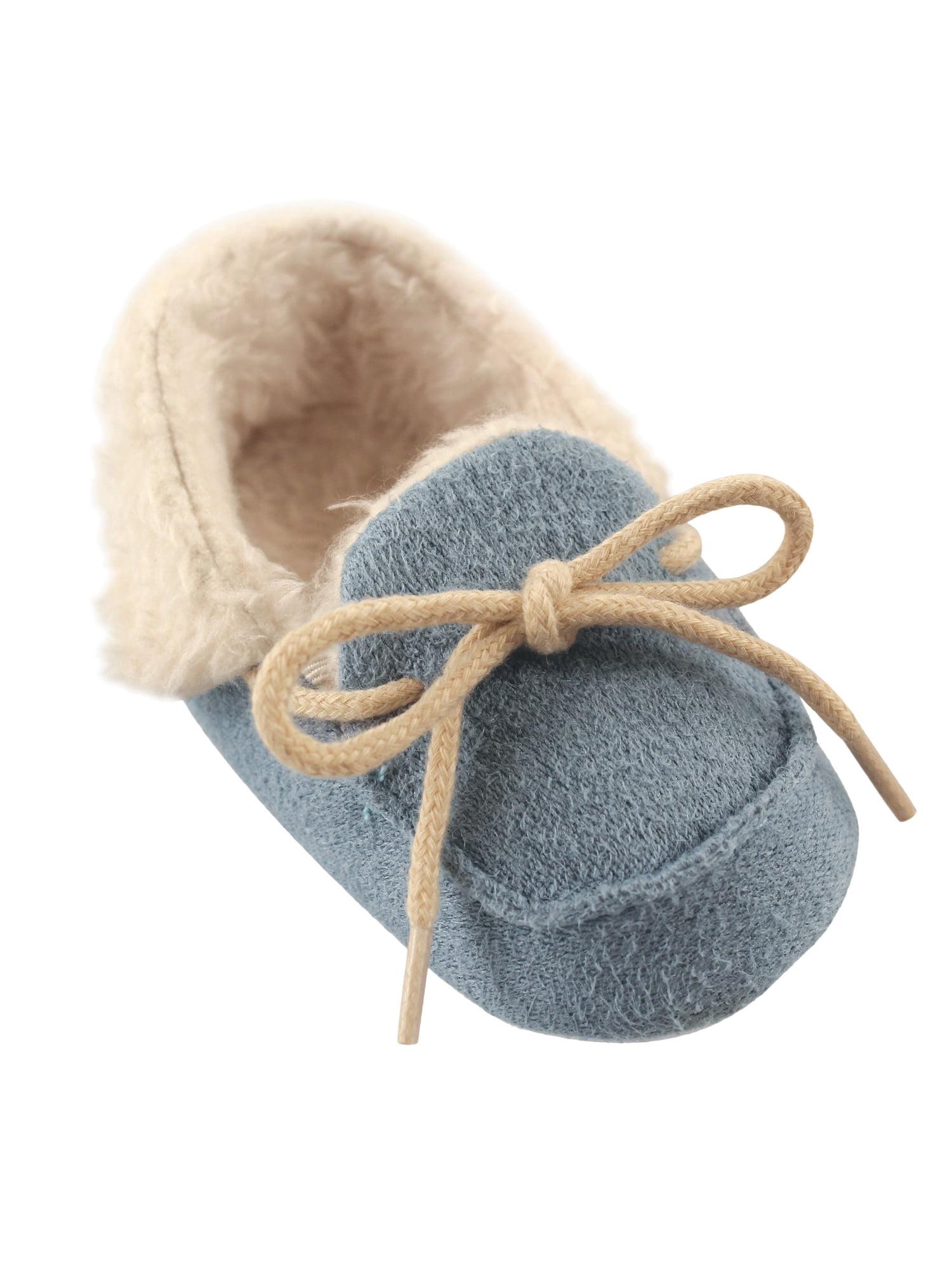 Baby Boy Cozy Moccasin Slipper