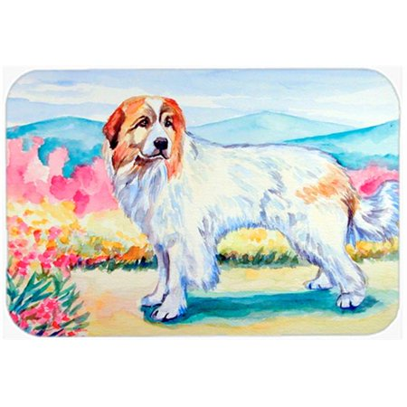Carolines Treasures 7130LCB Great Pyrenees Glass Cutting Board - Large, 15 x 12 in. - image 1 of 1