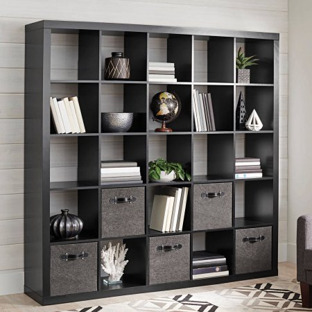 Better Homes And Gardens 25 Cube Organizer Room Divider Solid Black