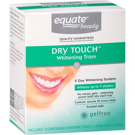 Equate Beauty Ultra 5 Day Whitening Strips 10 Ct