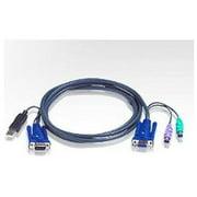 Aten Corp 2l5502up 6 Ft.ps/2 To Usb Intel.kvm Cab