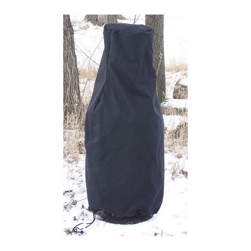 The Blue Rooster Extra-Extra Large Chiminea Cover in Black