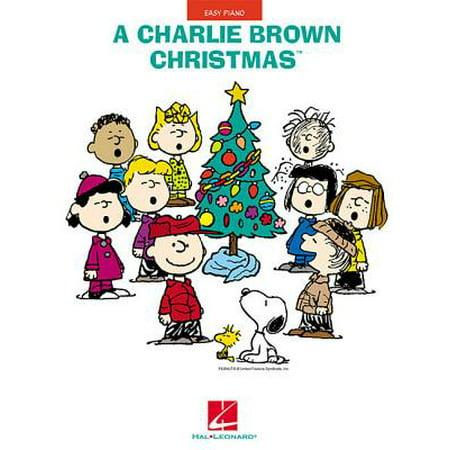 A Charlie Brown Christmas : Easy Piano ()