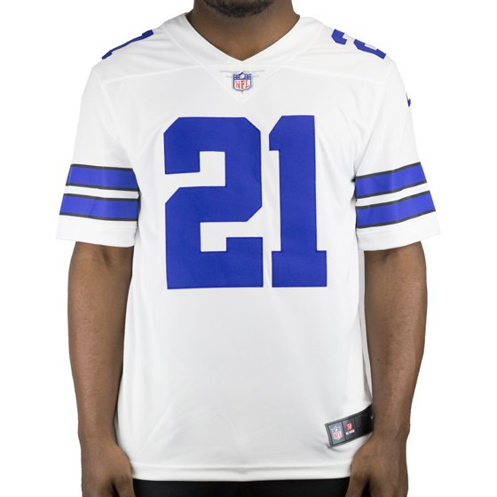 low priced 6dc89 39ff8 Nike Men's Away Limited Jersey Dallas Cowboys Ezekiel Elliott #21