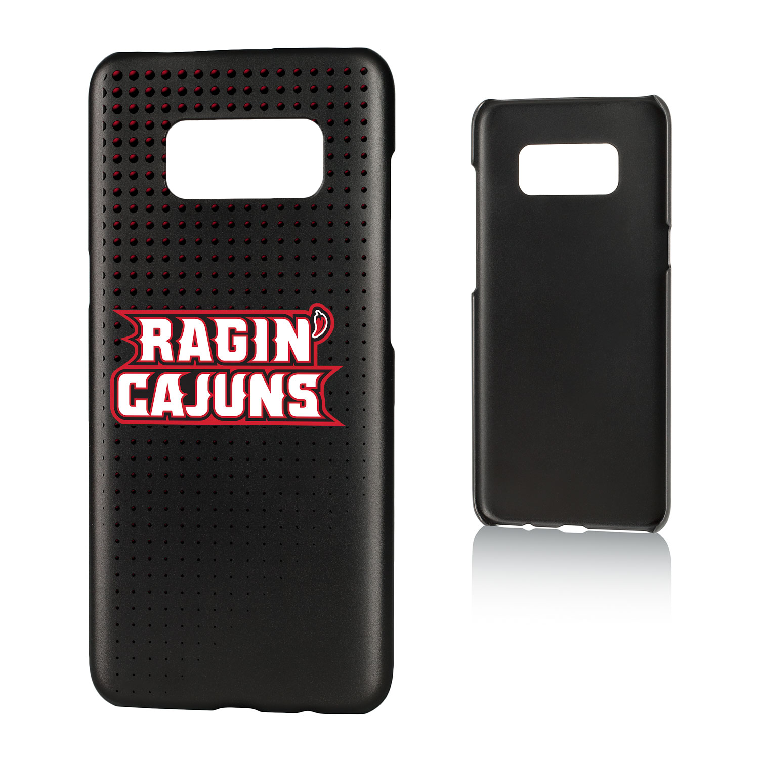 UL Louisiana Lafayette Ragin Cajuns Dots Slim Case for Galaxy S8