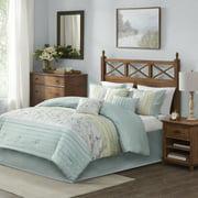 Home Essence Monroe 7 Piece Embroidered Comforter Set