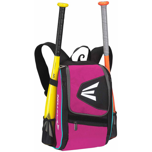 E100P Youth Bat Backpack, Black/Pink