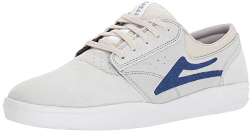Lakai Skateboard Shoes Griffin White Denim