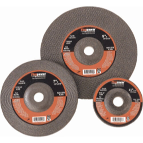 Firepower 1423-2191 Type 27 Depressed Center Grinding Wheel without Hub, 7-Inch x 1/4-Inch x 7/8-Inch