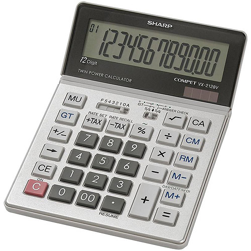 Sharp VX2128V Desktop Calculator