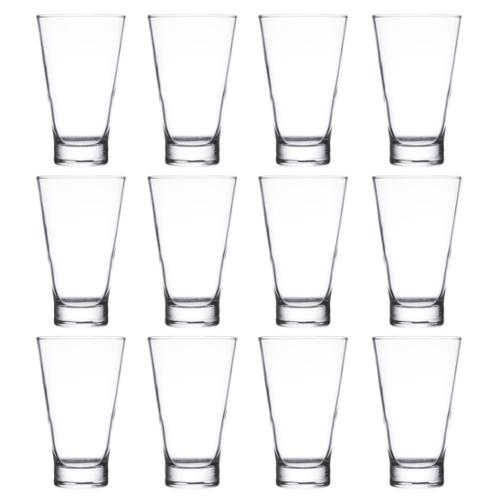 12pk Cardinal Arcoroc Pro Shetland 14oz Hi-Ball Cocktail Glasses 79698 Tumblers