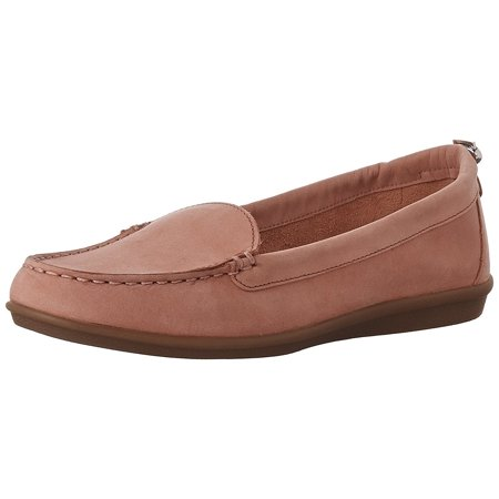 Hush Puppies Women's Endless Wink Flat, Coral Nubuck, 5.5 M - Hush Puppies Shoes For Women