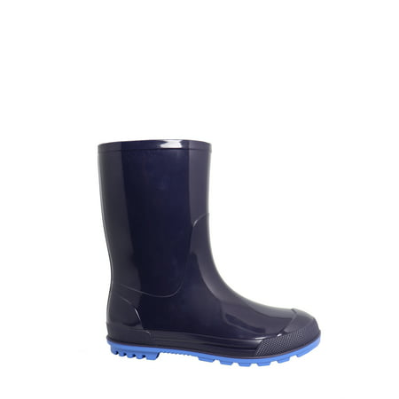 Wonder Nation Boys' Youth Rain Boot (Best Rubber Boot Brands)