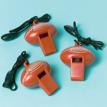 Football Whistles - Plastic Football
